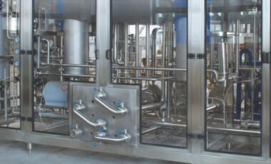 Beverage Pre-treatment System Homogenizing and deaeration system