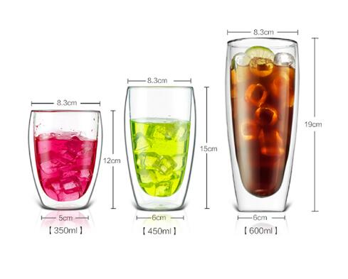 Lasted design normal size crystal water glass