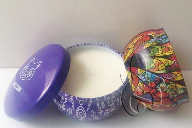 12*8cm milti-scent candles in ceramic jar