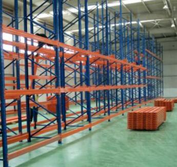 Heavy duty warehouse pallet steel shelving