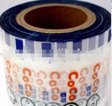 Custom printed aluminum foil lamianted plastic sealing film for pp,pe plastic bottle cap
