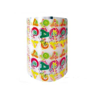 High quality custom printing food grade plastic packaging film roll for fruit jelly