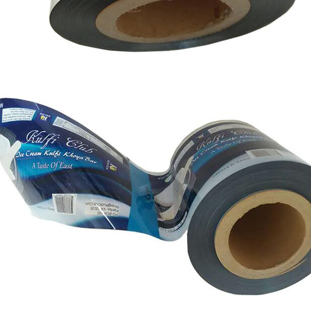 food grade mylar aluminum foil laminated plastic packing roll film food packaging plastic printed packing film roll for food