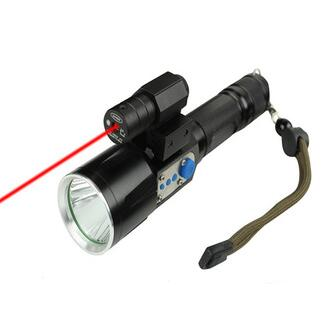 High power Hunting compact led flashlight rechargeable led emergency flashlight torch light by 18650 lithium battery