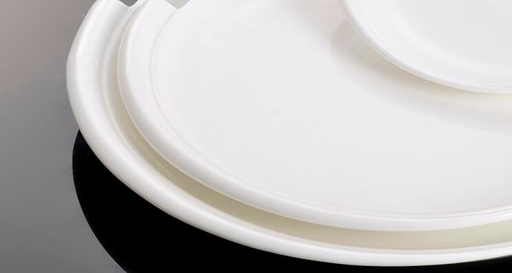 10 inch Super White Excellent  Porcelain Round Plates