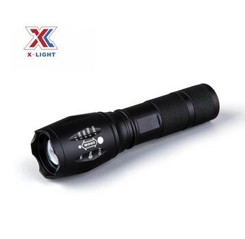 Rechargeable Battery Power Source and Emergency Usage lithium ion battery flashlight