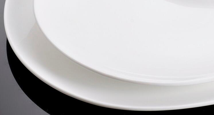 12 inch  Good Quality Pure White Charger Plates