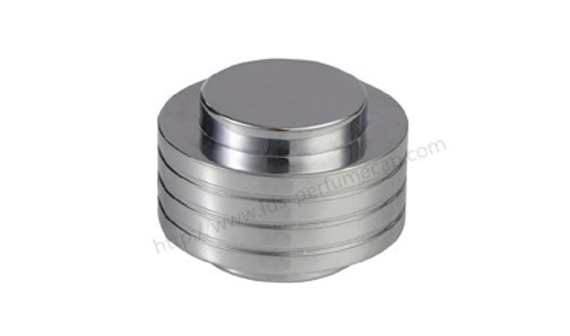 Perfume zinc alloy lid Zamac Perfume Cap