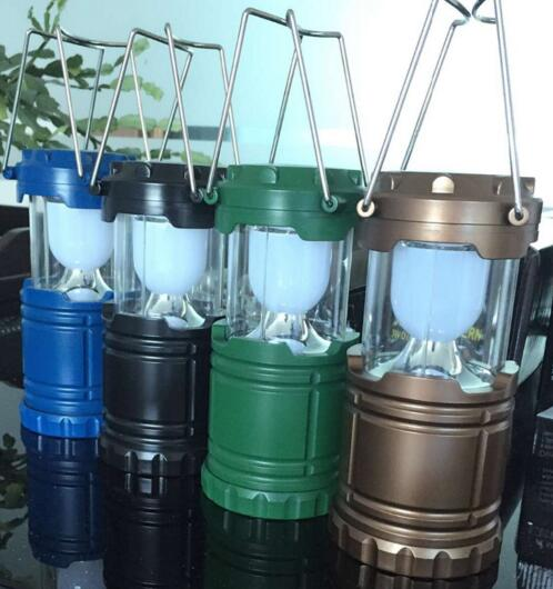 Top sale 6led portable outdoor LED camping lantern flashlights,hurricane emergency tent light