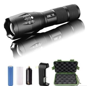 Aluminum Emergency Zooming xml T6 10watt Rechargeable Torch Light