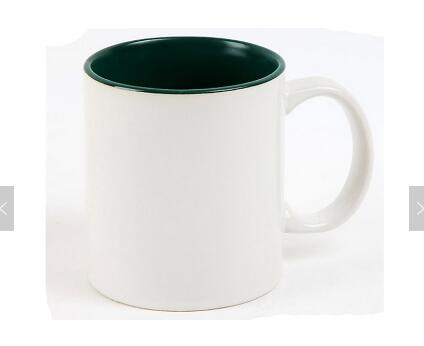 11oz top grade inner colourful mug cup