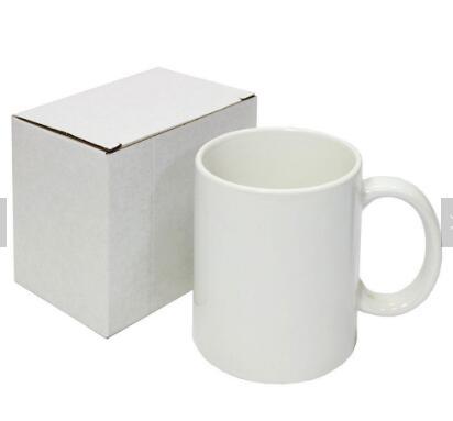 Blank ceramic sublimation coated mug
