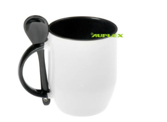 Sublimation Blanks Printable Mug with Spoon