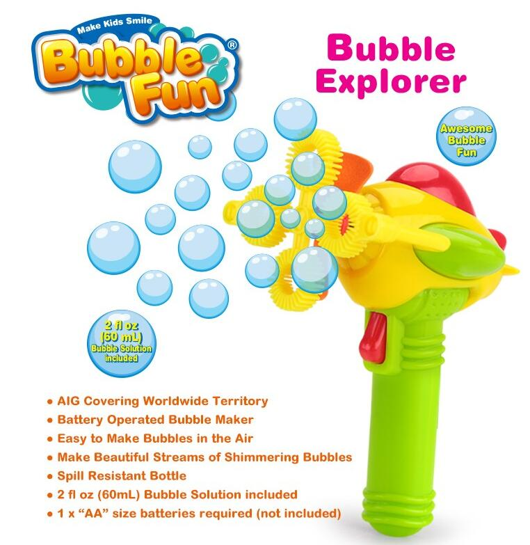 Electric Bubble Aeroplanes Play Set B/O Bubble Toy