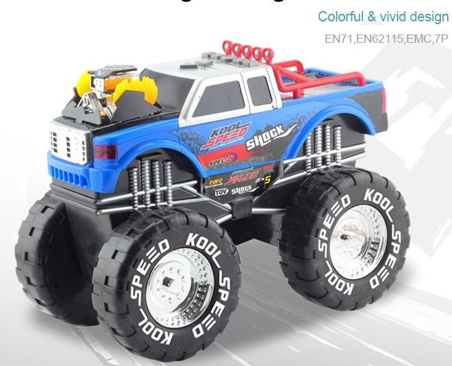 Electric Miniature Plastic Toy Truck