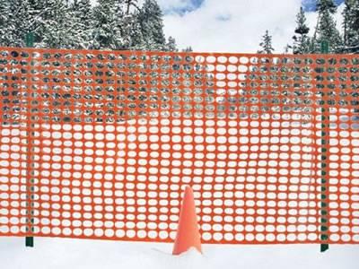 Orange Barrier Fencing Mesh