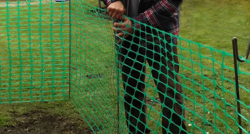 Green Barrier Fencing Mesh