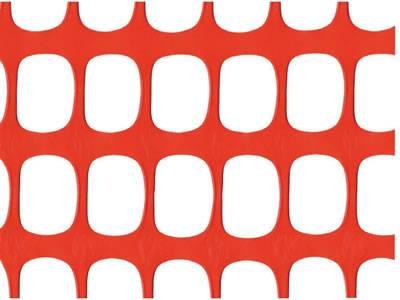 Oval Plastic Barrier Mesh