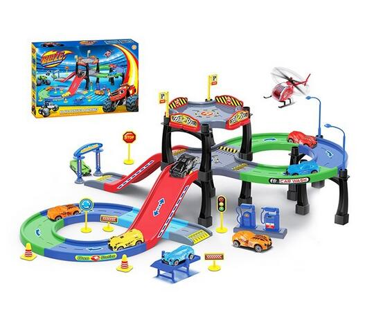 Hot Sale Parking Lot Toys Set