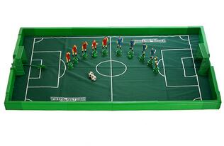 Children play ball league champions football table game toys