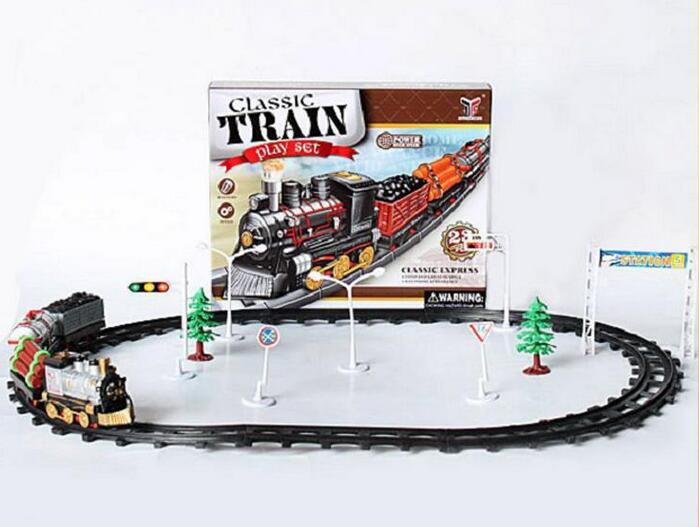 new design kids electric toy train sets for wholesale