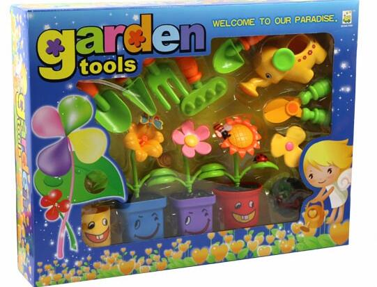 wholesale plastic planting flower tool free samples educational toys