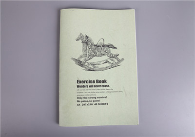 Stitching Bound Exercise Book