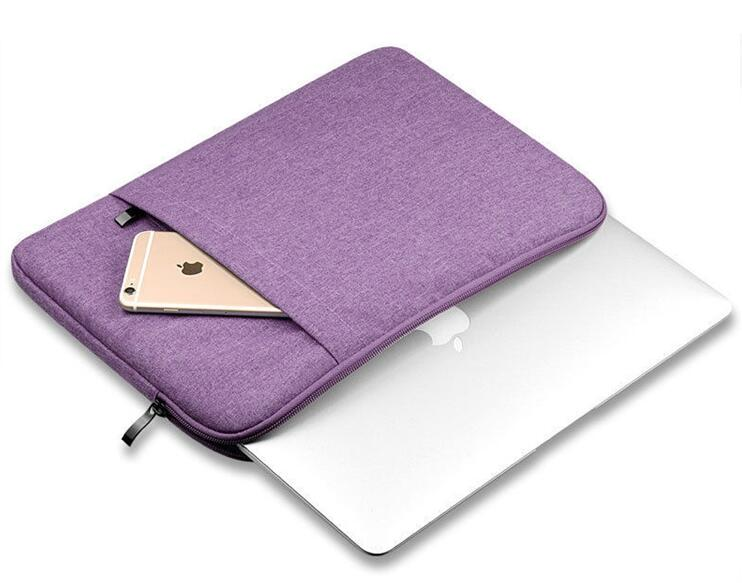 Wholesale fashionable polyester felt sleeved laptop bag