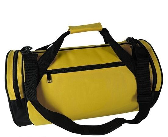 Flexible Colorful Roll 18 Round Gym Duffle Bag Traveling Bag