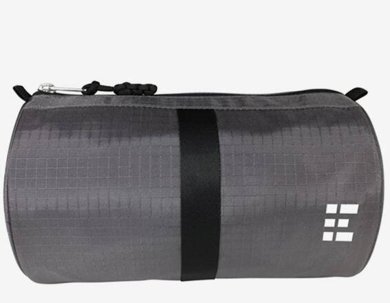 Durable Gray Mens Dopp Kit Travel Toiletry Bag Wash Bag