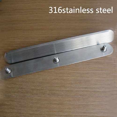 Warning strips 316Stainless steel anti-slip for blind sidewalk