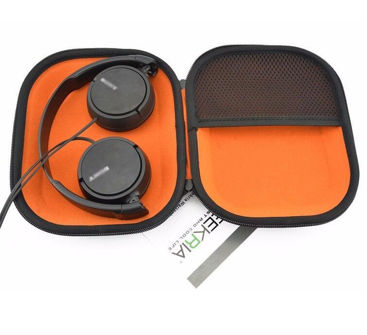 NEW design eva headphone case custom waterproof eva earphone carrying hard case