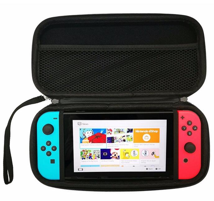 Carrying Case Protective Storage Bags Waterproof EVA Hard Shell for Nintendo Switch