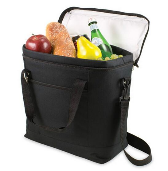 high quality insulated lunch cooler bag with durable hard liner