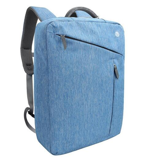Evecase Water Resistant Convertible Laptop Canvas Briefcase Backpack