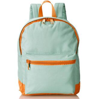 Unisex Polyester Two Tone Classic Backpack Daypack bag