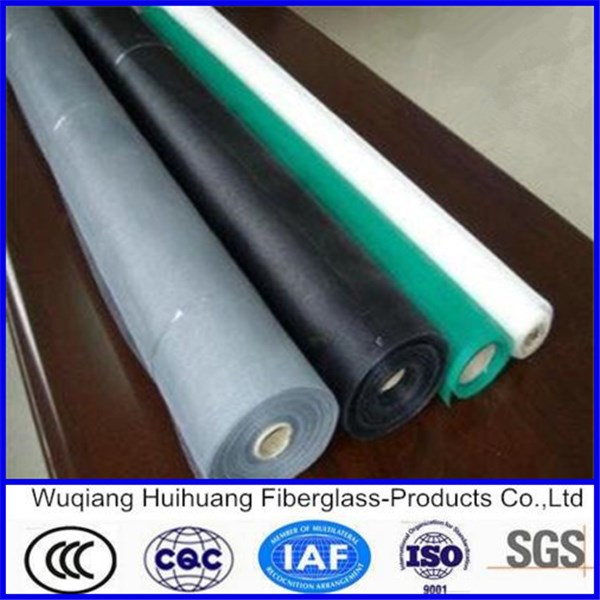 Fiberglass insect window screen mesh