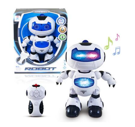 Smart Mini Electric Remote Control Dancing Walking Robot Toy