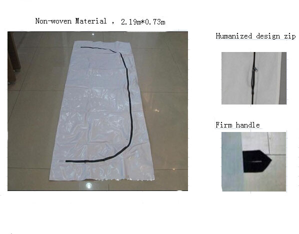 Cost advantage Non-woven Material bodyBags/dead body bag