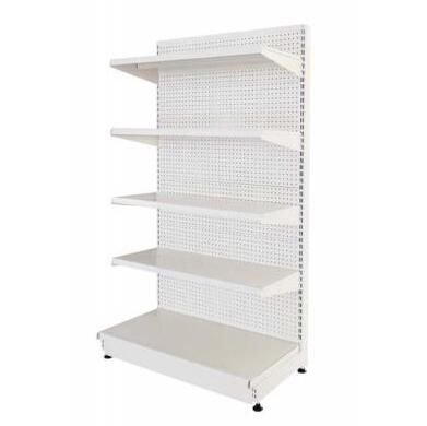Retail pegboard shelving