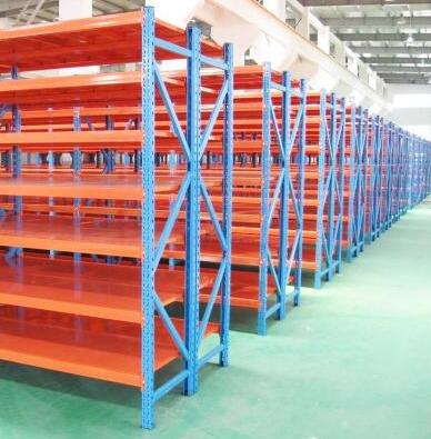 Medium duty warehouse rack