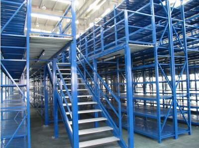 Drive-in industrial racking systems