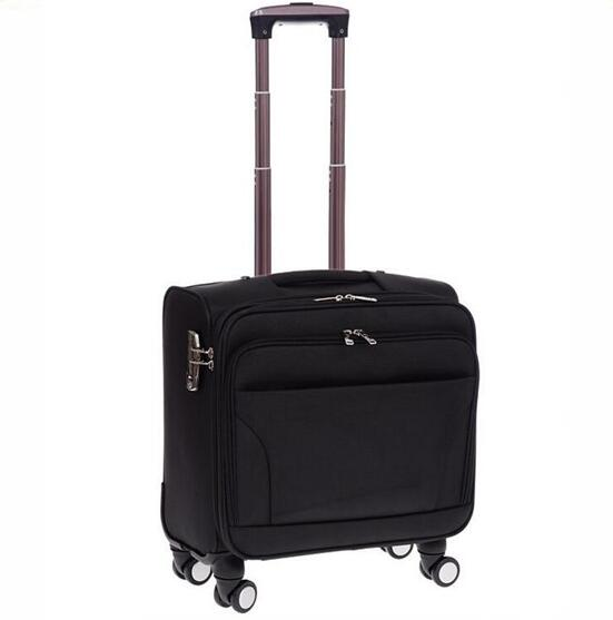 Anti-theft trending hot products travel trolley bag with 4 wheels