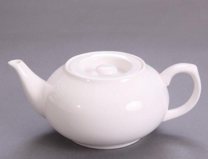 large flat mouth teapot