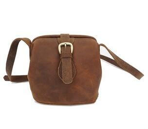 YD-002 2017 Vintage crazy horse leather women's messenger cross body bag
