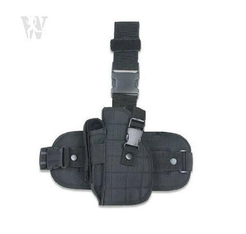 Tactical Gear Thigh Pistol Adjustable Lefty Left Handed Drop Leg Holster Gun