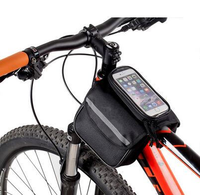 Top Quality Low Price Cycling Front Tube Bag Frame For Bicycle Bike