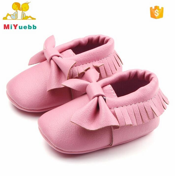 Hot Fashion Butterfly-knot Baby Unisex Moccasins Shoes