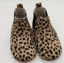 europe new handmade hot sale wholesale soft kids shoes leopard print fashion shoes kids