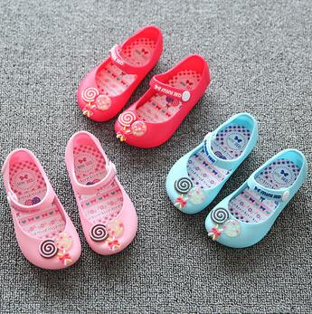 da34ba28343 sweet cute fancy sugar children kids girls melissa pvc jelly shoes wholesale